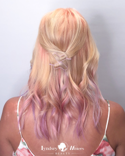 Pastel Dip Dyed Color